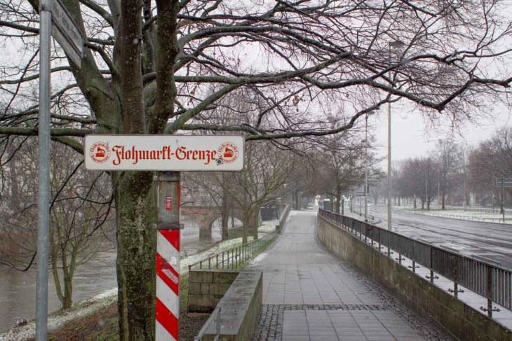 Grenzüberschreitung in Hannover.