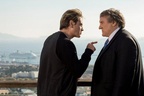 """""""Marseille"""": Der Bürgermeister (Gérard Depardieu, r.) und sein Herausforderer (Bênoit Magimel)"""