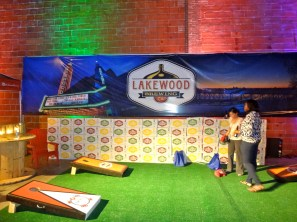 You go Lakewood Brewery - such a fun set up!