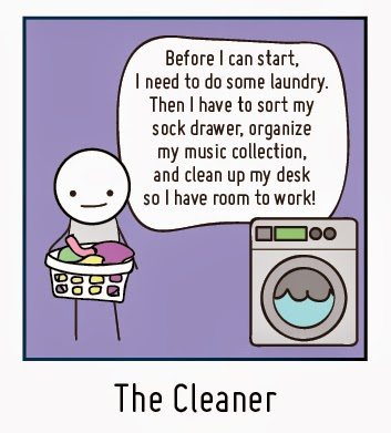 Procrastinator Profile The Cleaner