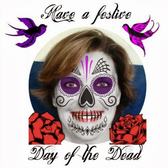Day of the dead archives the fortuitous housewife greetings from the dead housewife m4hsunfo