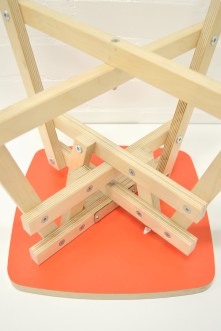 Fortuitous Novelties Folding Stool Frame Detail