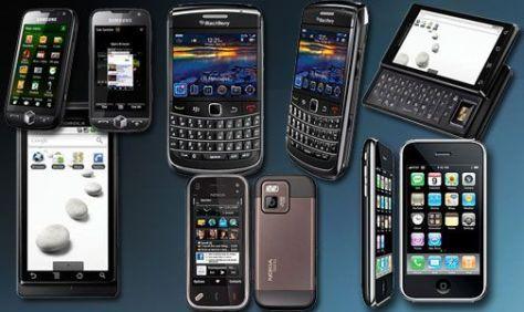 SMARTPHONES. Impulsan el mercado global de celulares.