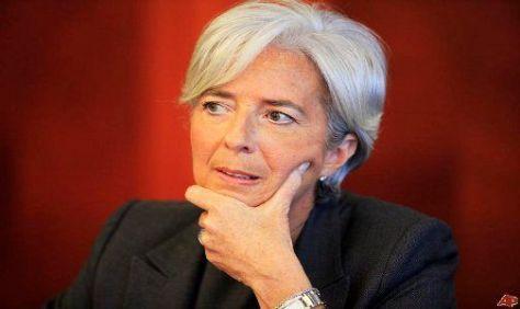 LAGARDE. Directora del FMI.