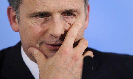 El presidente del Banco Nacional Suizo (BNS), Philipp Hildebrand. (AFP, Fabrice Coffrini)