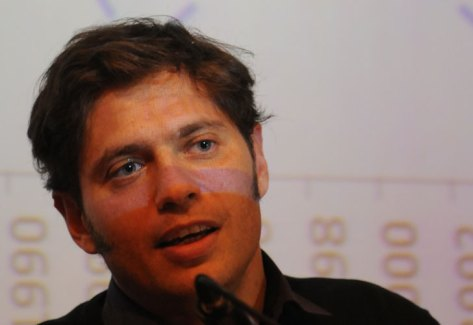 AXEL KICILLOF. Ministro de Economía. (Foto DyN).
