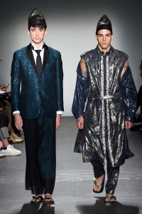 FORTUNA Tokyo NYFW SEP 2019, 2020 SS Collection Look 5, 6.