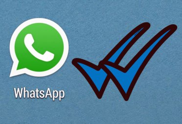 El doble tick celeste de Whatsapp.
