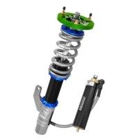 Pro 3 way adjustable coilover assembly for racing vehicles