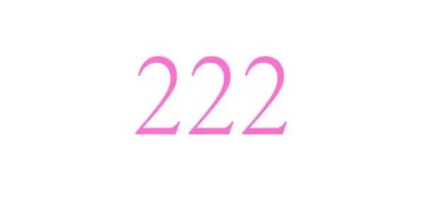ゾロ目のエンジェルナンバー「222」の意味を解説