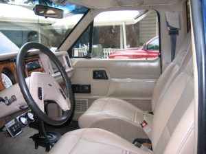 88 BII gets 99 Exploder heater leather seats | Ford