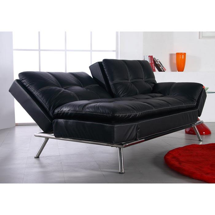 Eva  c208 click clack sofa bed  Fortune Furniture