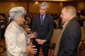 Development partners with Liberia