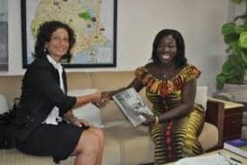 Development partners with Ghana