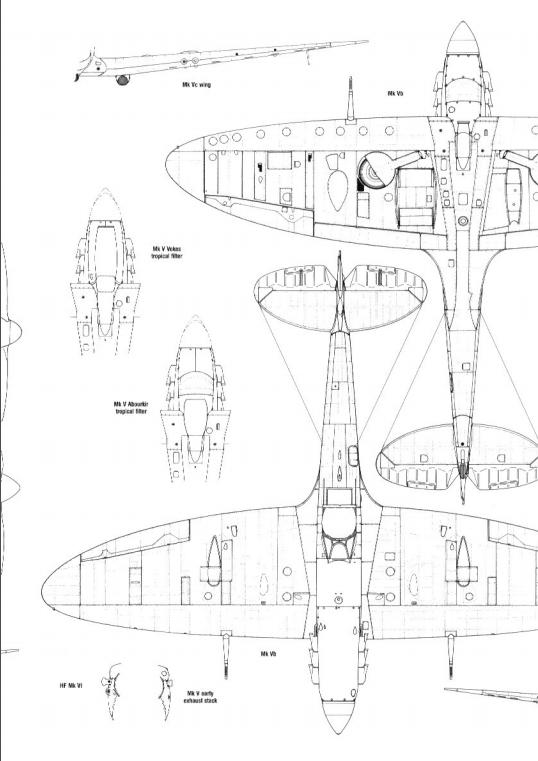 spitfire schematic