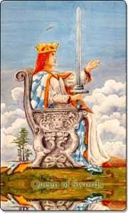 Queen of Swords - Reverse
