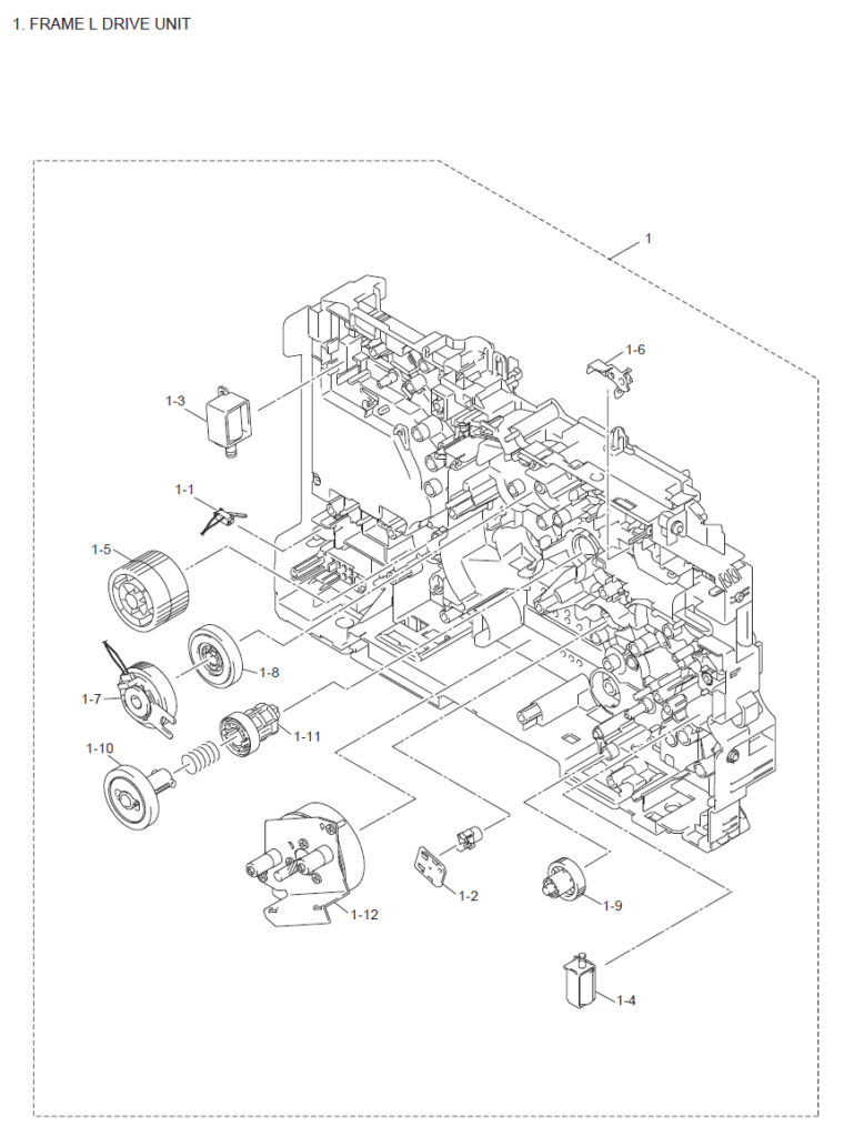 Brother HL 5450DN Parts List and Diagrams