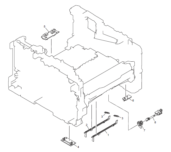 Brother HL 6180DW Parts List and Diagrams