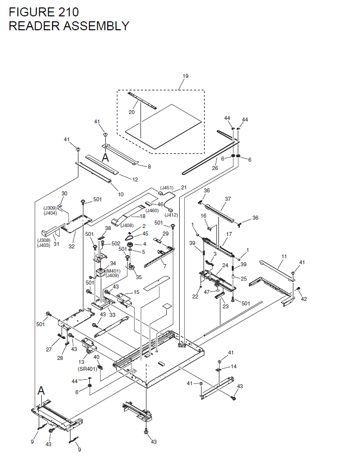 Canon imageCLASS MF6580 Parts List and Diagrams