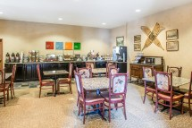 Comfort Inn Breakfast Seating Fort Wood Hotels