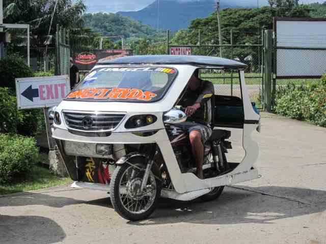 trikes taxi palawan