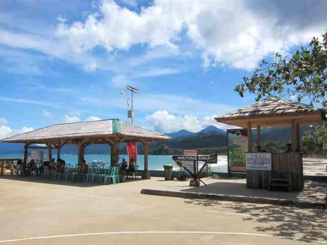 Sabang boat terminal to Puerto Princesa Underground River, Palawan, Philippines