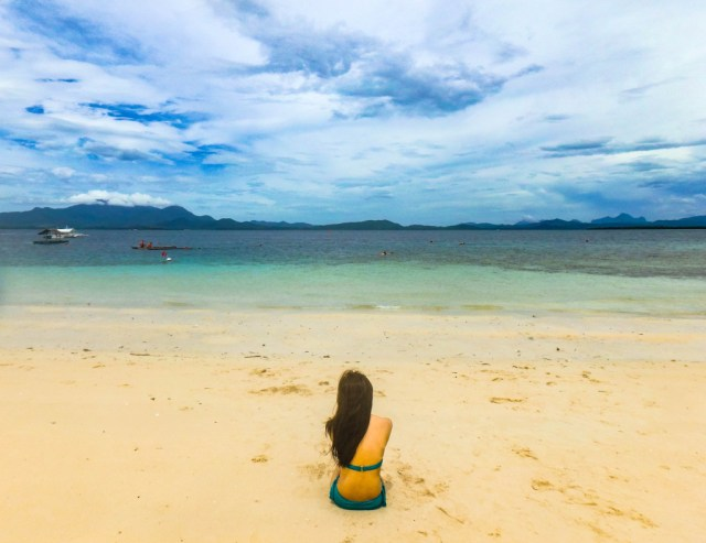 pandan island honda bay palawan philipines