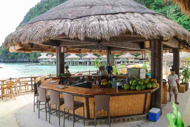 Bar at Miniloc Island, El Nido, Palawan, Phlippines