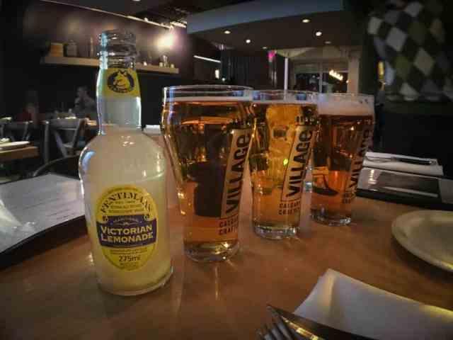 Panache, monaco and lemonade from Cassis Bistro, Calgary, Canada