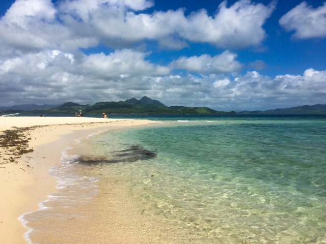 Isla Blanca near Apulit Island, El Nido, Palawan, Philippines
