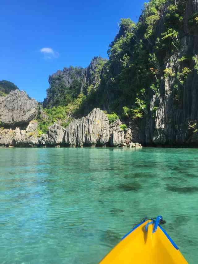 Small lagoon at Miniloc Island, El Nido, Palawan, Phlippines