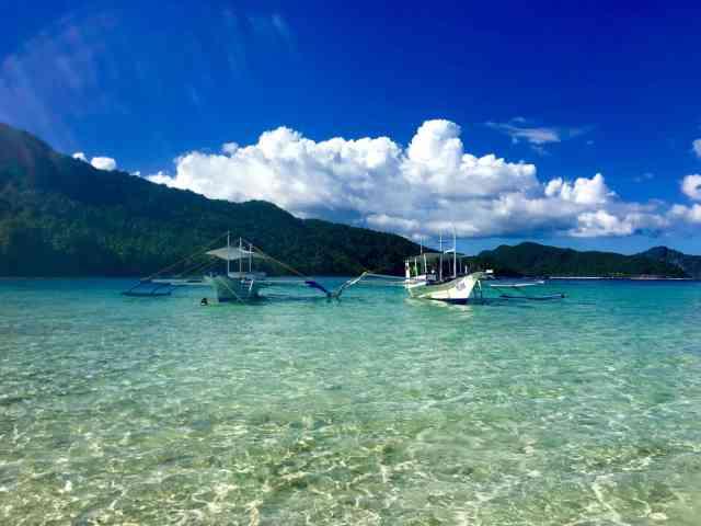 Vigan Island in El Nido, Palawan, Phlippines