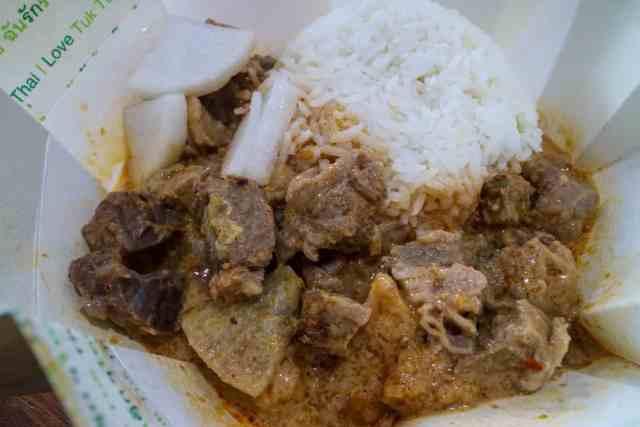 Beef Masman Curry from Tuk Tuk Thai, Calgary