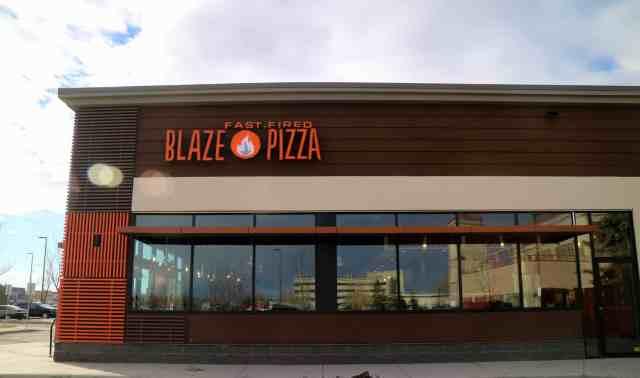 Blaze Pizza in Calgary, Canada