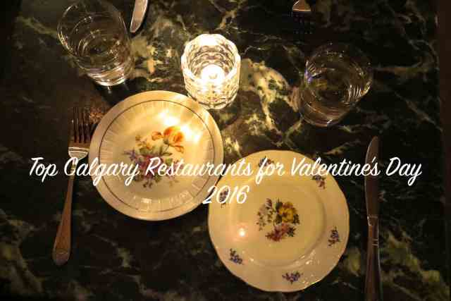 Top Valentines Restaurants Calgary