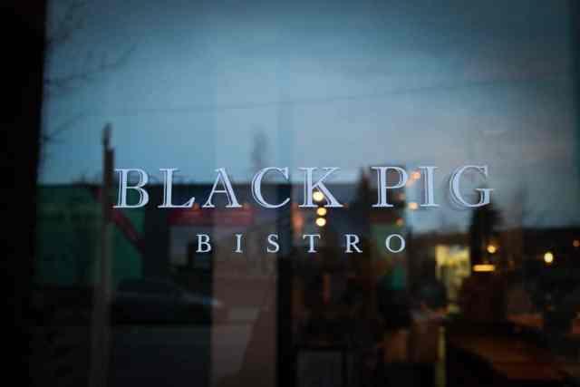 Black Pig Bistro, Calgary