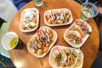 Pop up taco dinner at Phil and Sebastian