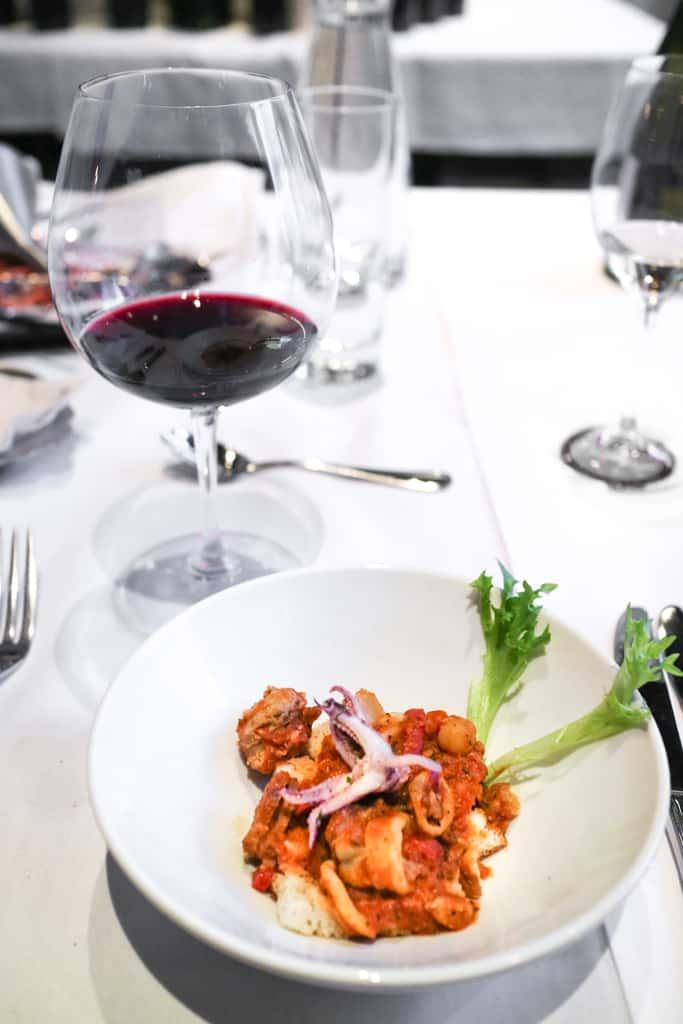 Calamari from Argentine Winemaker Dinner at Pampa Vine & Dine