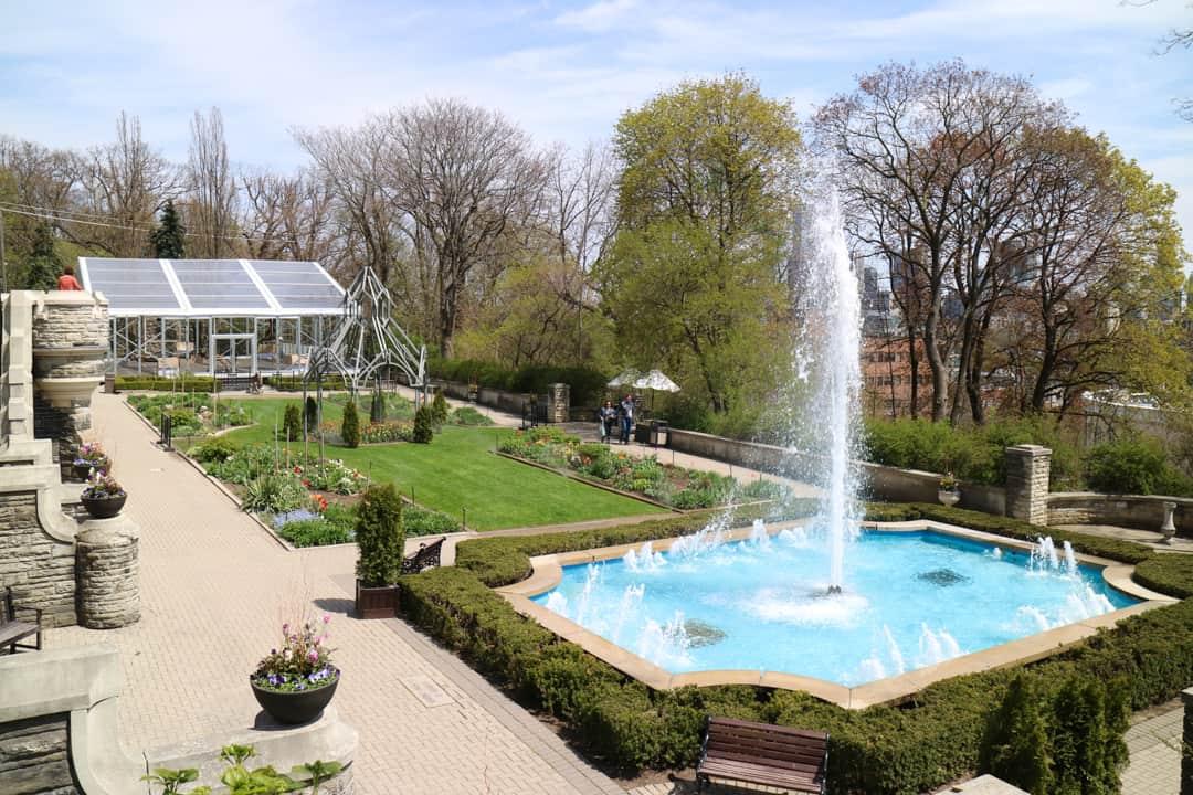 Estate Gardens at Casa Loma Toronto