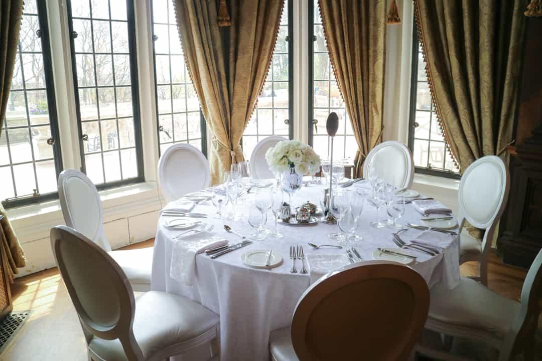 Dining Room at Casa Loma Toronto
