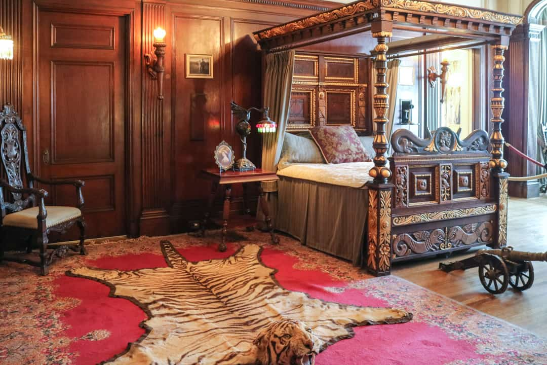 Sir Pellatt's Room at Casa Loma Toronto