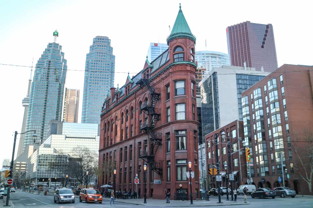 Places to visit in Toronto for photographers - Gooderham Building