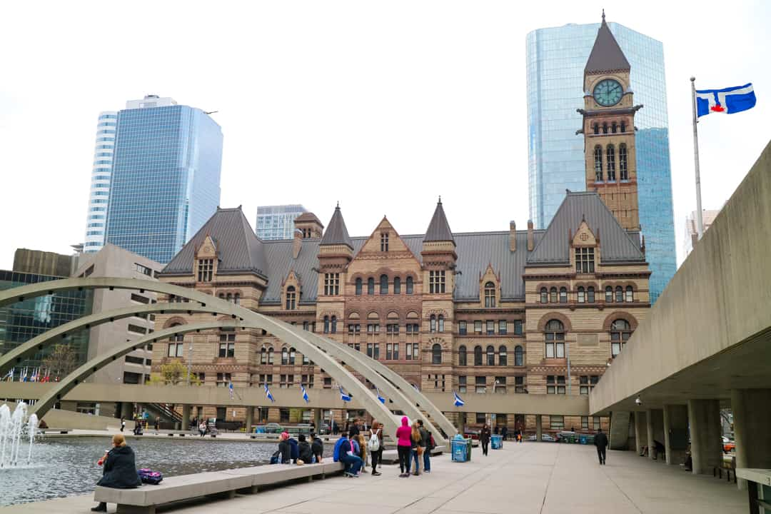 Places to visit in Toronto for photographers - Nathan Phillips Square