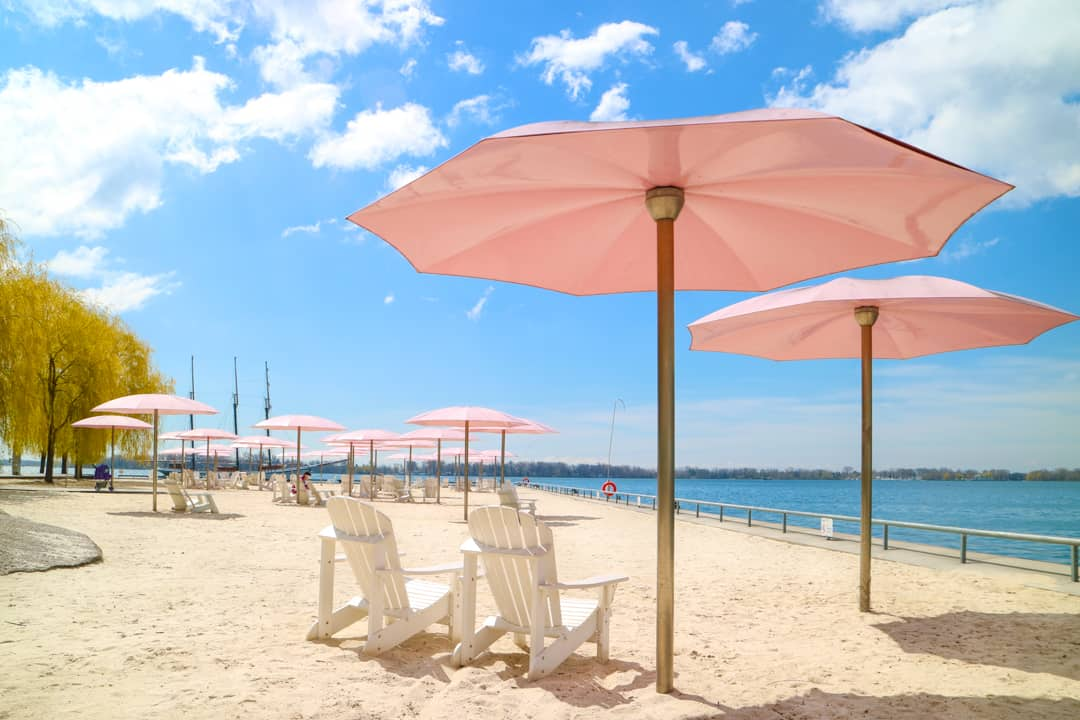 Places to visit in Toronto for photographers - Sugar Beach