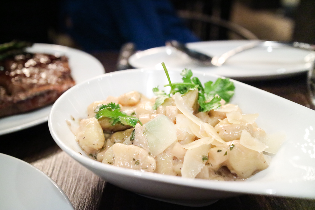 Potato gnocchi from Workshop Kitchen & Culture Calgary