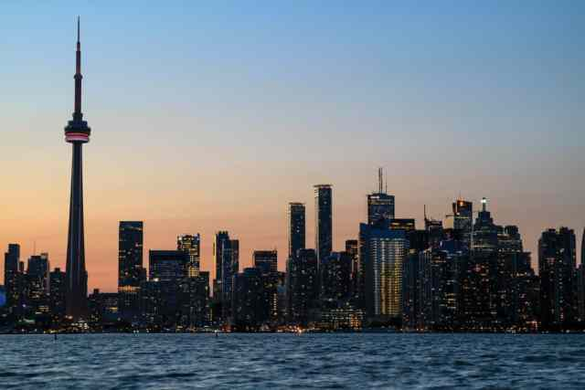 Toronto Skyline from Toronto Islands
