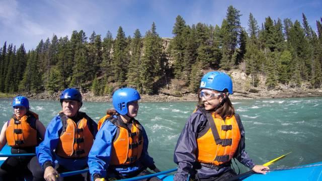 Summer Activities Calgary: Whitewater Rafting