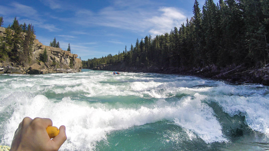 Summer Activities Calgary: Whitewater Rafting