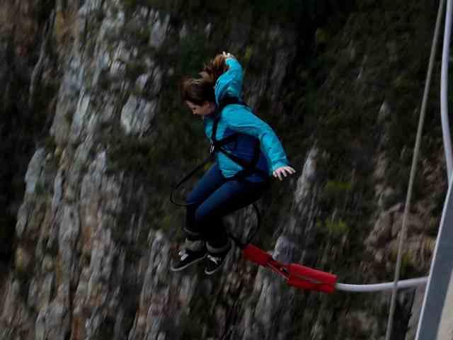 Adventure for adrenaline seekers: Bungy Jumping, Bloukrans Bridge, South Africa