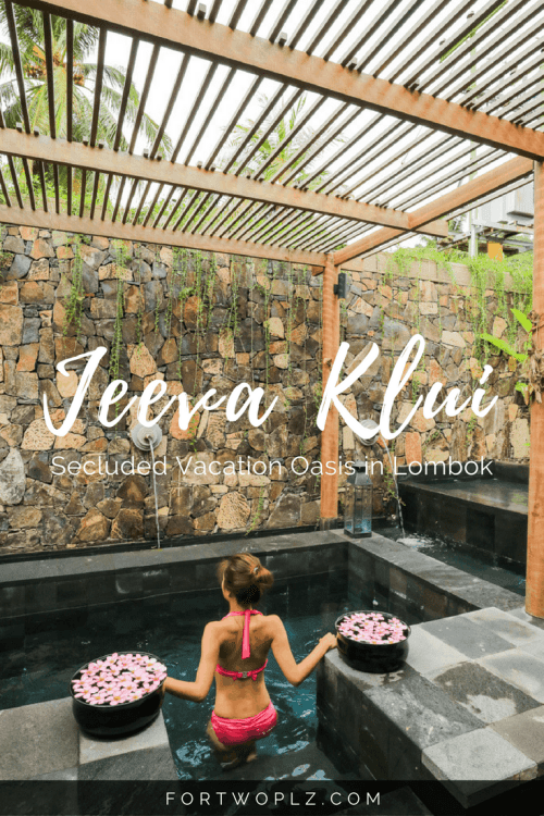 Looking for a secluded relaxing beach getaway? Check out Jeeva Klui. Drown out the buzz and melt your stress away at this boutique hotel in Lombok.